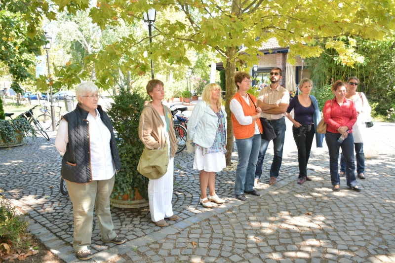 Látogatás a Kézfogás Európa LEADER Kultúrparkban.